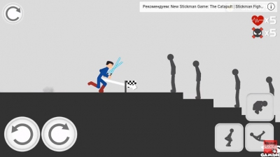 Stickman Backflip Killer 3 взломанный